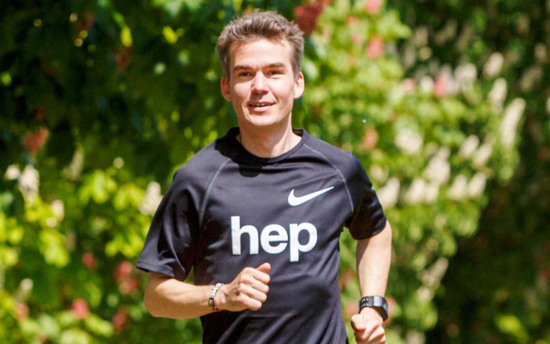 Arne Gabius startet für hep bei der Challenge Heilbronn
