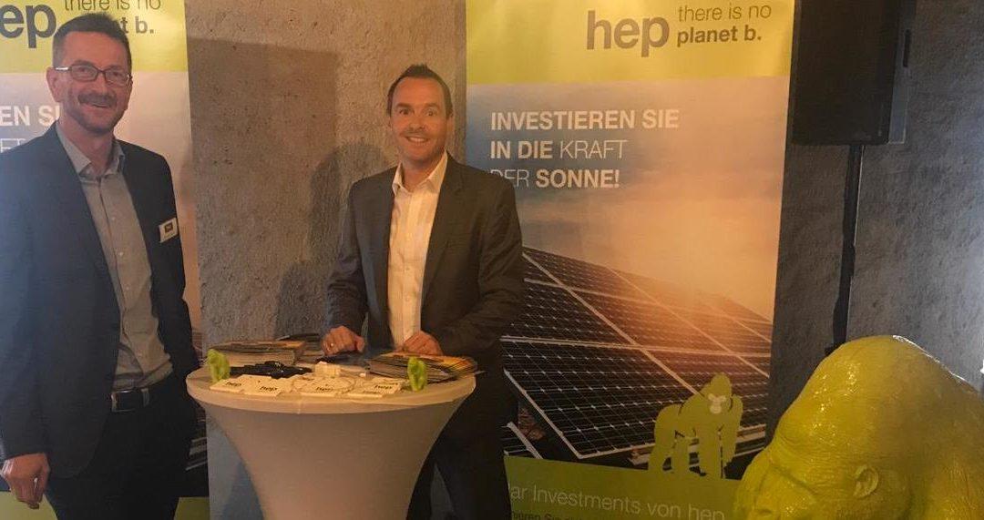 hep beim fünften Marktplatz für nachhaltige Investments