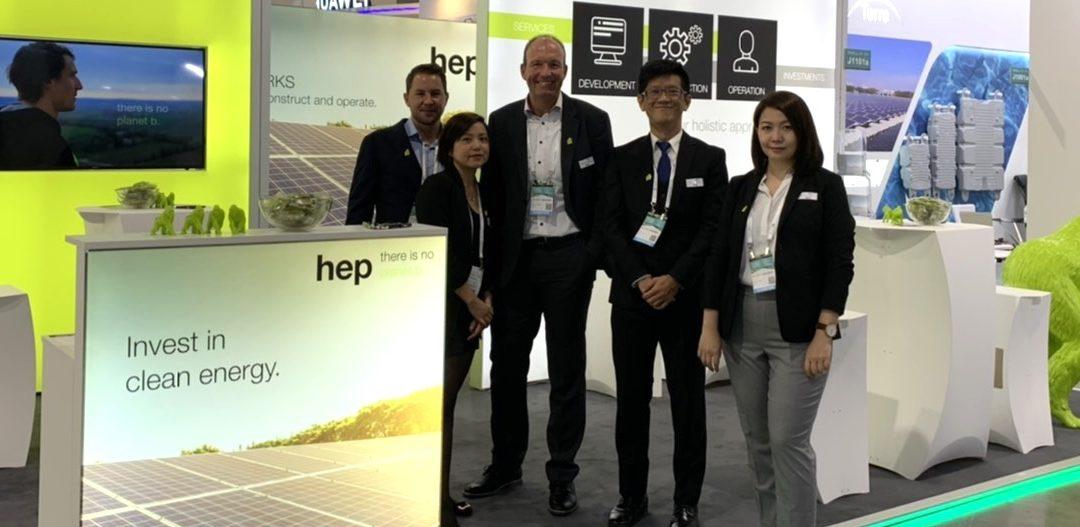 """hep präsentiert sich auf """"Energy Taiwan""""-Messe"""