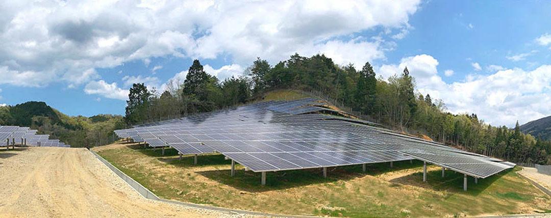 Netzanschluss für den ersten Solarpark2020