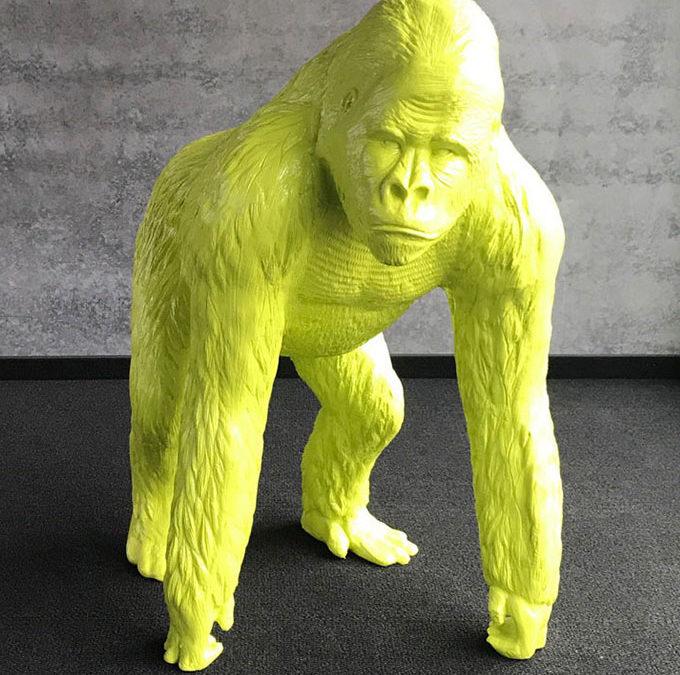 Unser Gorilla George