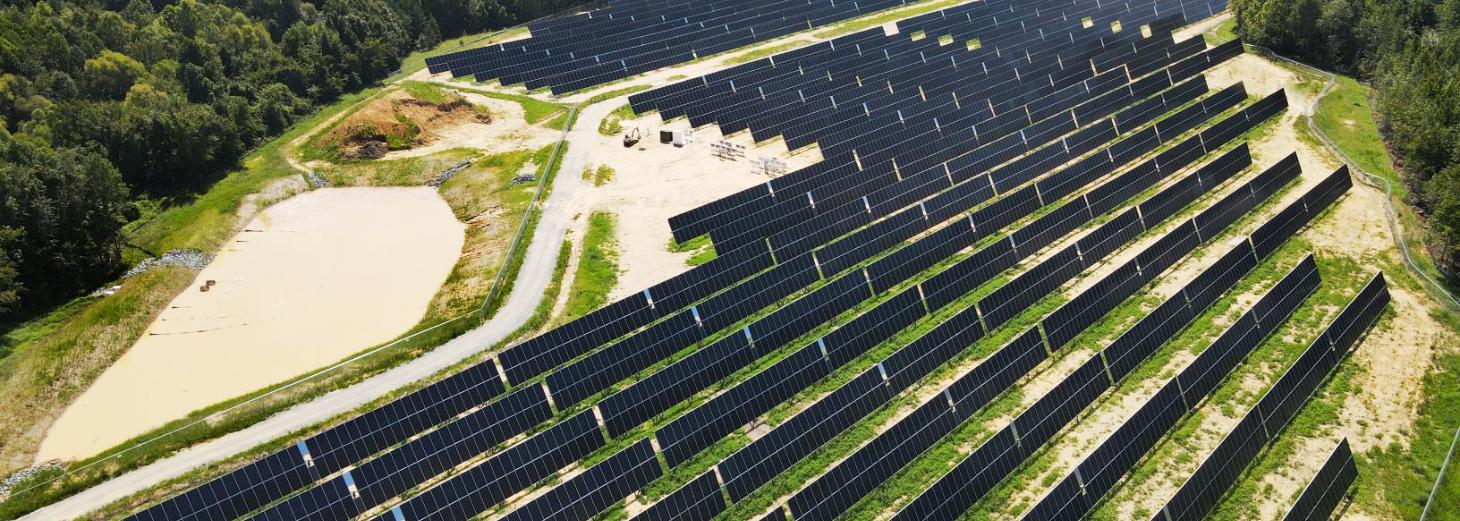 Inbetriebnahme des ersten Solarparks in den USA