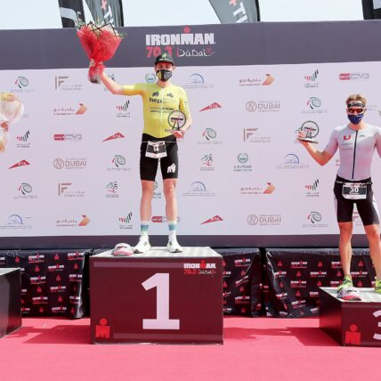 hep Sports Team Wins at Ironman 70.3 Dubai