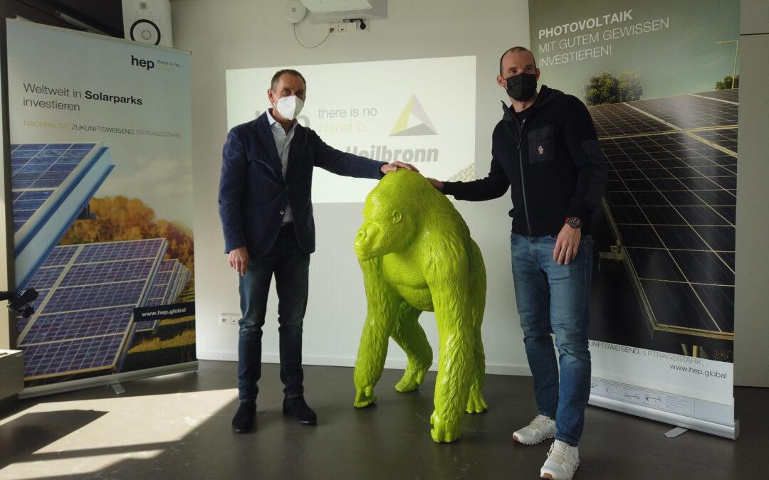hep ist Titelsponsor des Triathlon Heilbronn
