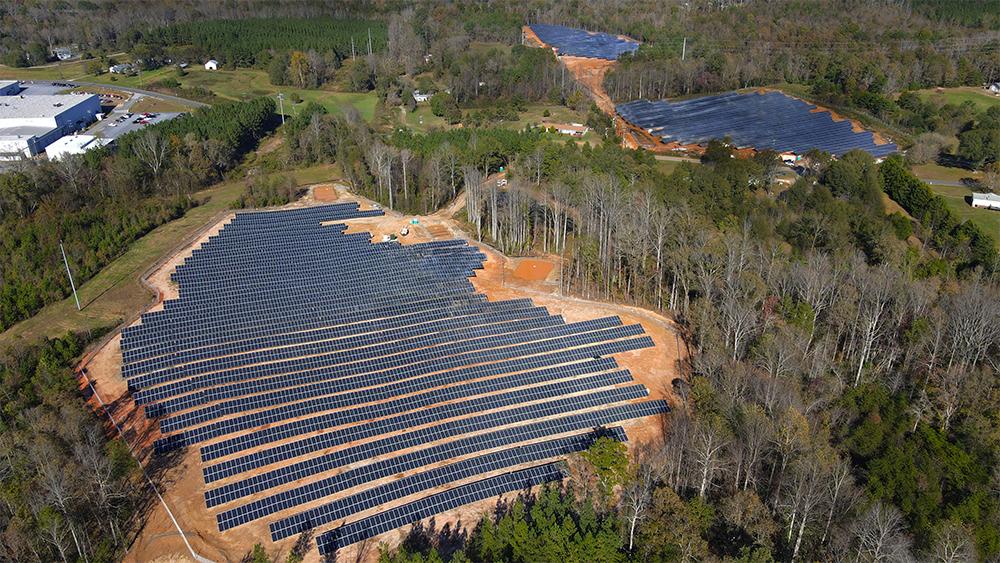 Der dritte hep-Solarpark in den USA geht ansNetz